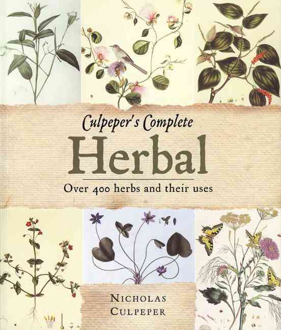 Culpeper+�s Herbal By Culpeper, Nicholas
